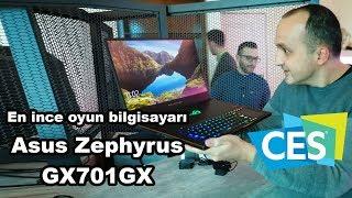 CES 2109 | En ince oyun bilgisayarı Asus Zephyrus GX701GX