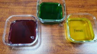 Satl Clear Slime, Làm Slime Trong Suốt 3 Màu Với Muối Và Sunlight Không Hồ Không Borax