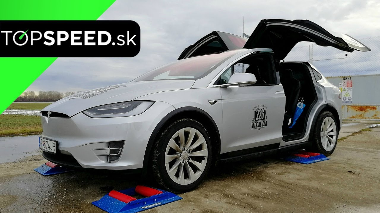 Tesla Model X 4x4 test - TOPSPEED.sk c3605653aa