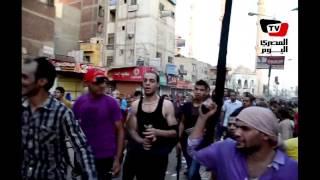 مسيرة بالسلاح ضد مرسي بالمنصورة ٢٦ يونيو ٢٠١٣