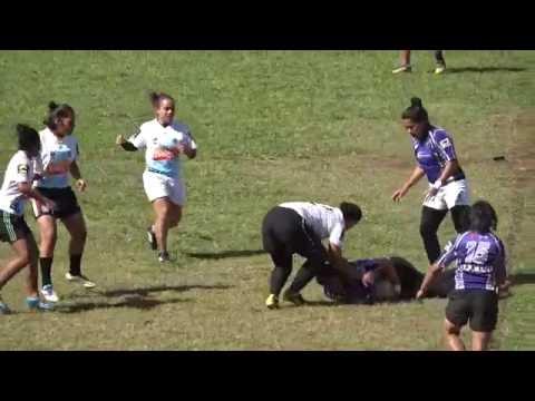 Tongan Women's Rugby League /// Big Hits /// Runs /// Catches