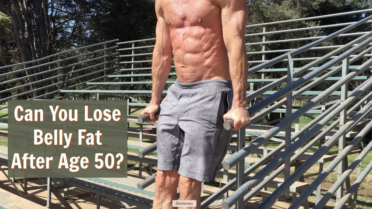 How to lose belly fat over 50 years old