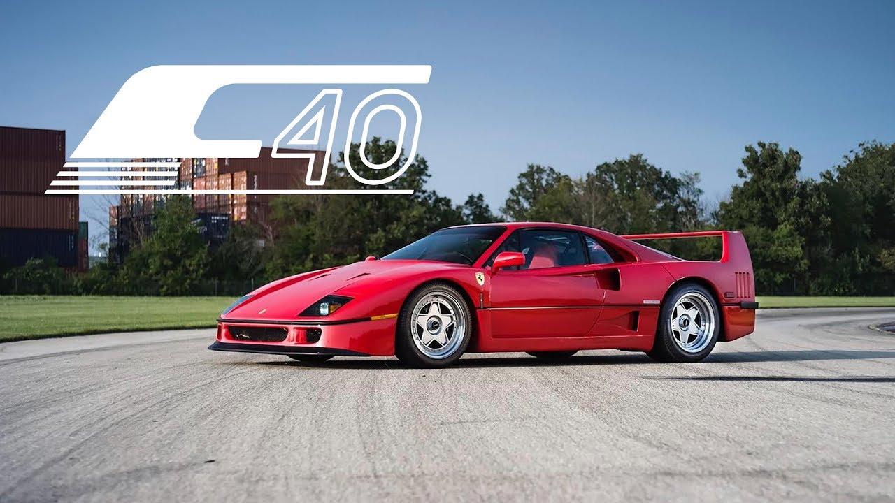 1991 Ferrari F40: Driving The Dream Car - YouTube