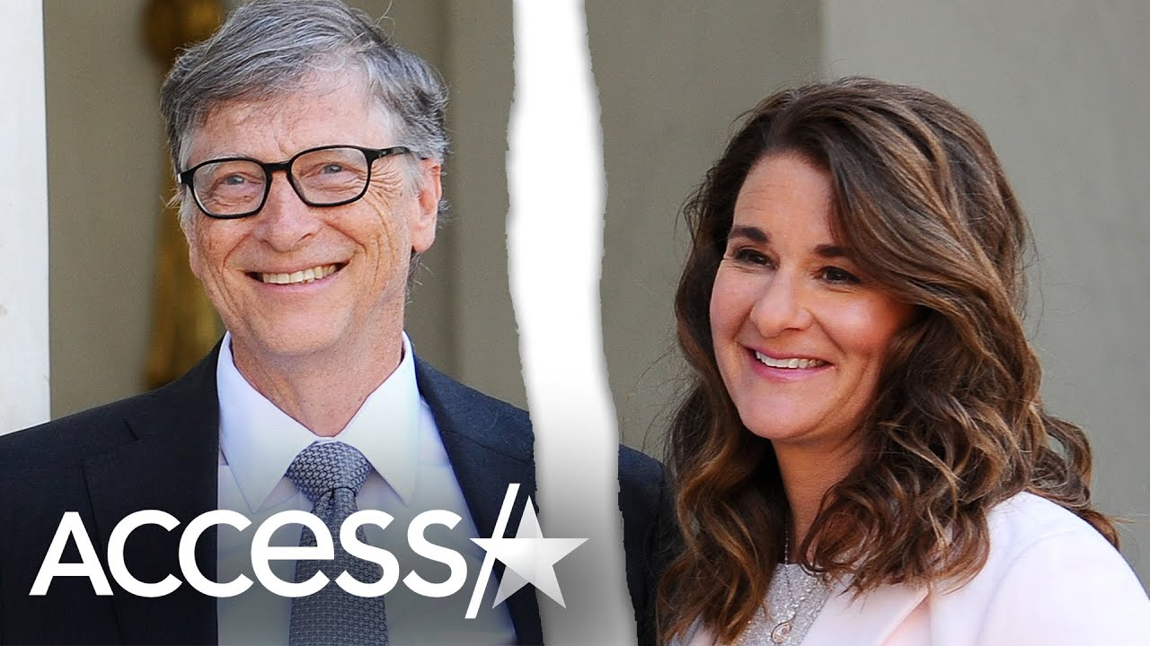 Bill Gates & Wife Melinda Announce Split