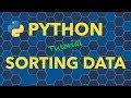 Python Sorting Data
