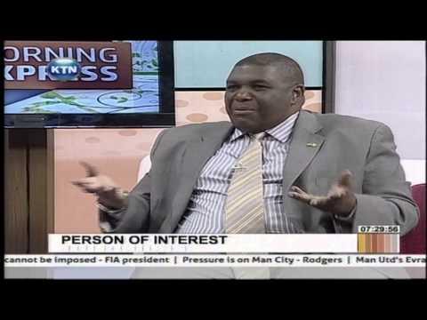 Person of Interest: David Matsanga on Morning Express