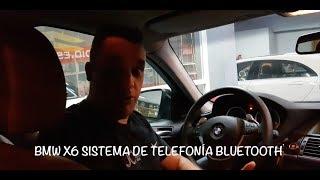BMW X6 Sistema de Telefonia Bluetooth