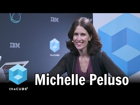 Michelle Peluso, IBM - World of Watson - #ibmwow - #theCUBE ...