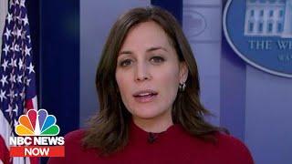 Trump Keeps Allies Close During Impeachment Trial | NBC News NOW