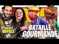 LE MODE BATAILLE GOURMANDE EST DE RETOUR (BURGER VS TOMATE) ! | FORTNITE DUO FR