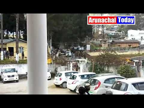 ARUNACHAL SCOUT BATTALION  RANSACKED POLICE STATION
