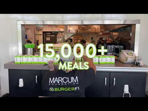 Nearly 20,000 Meals in 17 Days: BurgerFi and the Marcum Foundation Align to Feed the COVID-19 Frontline