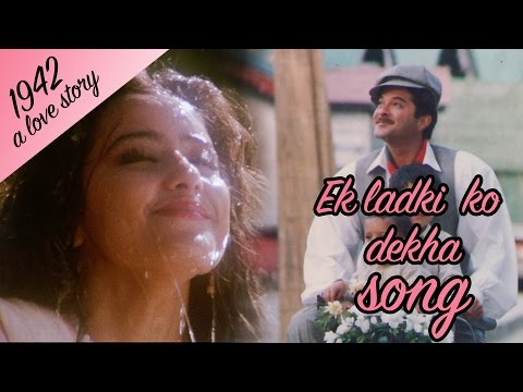 Ek Ladki ko dekha - Full Video HD | 1942 A love story | Anil Kapoor | Manisha Koirala