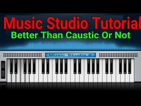 Music Studio Tutorial || Better Than Caustic or Not || Android Dj Mixer
