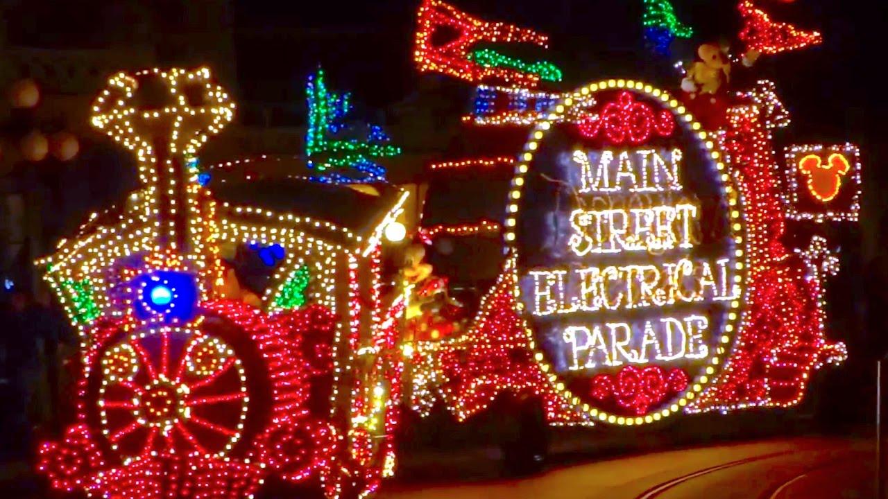 Main Street Electrical Parade Returns To Disneyland First