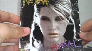 Kesha - Animal Album Unboxing