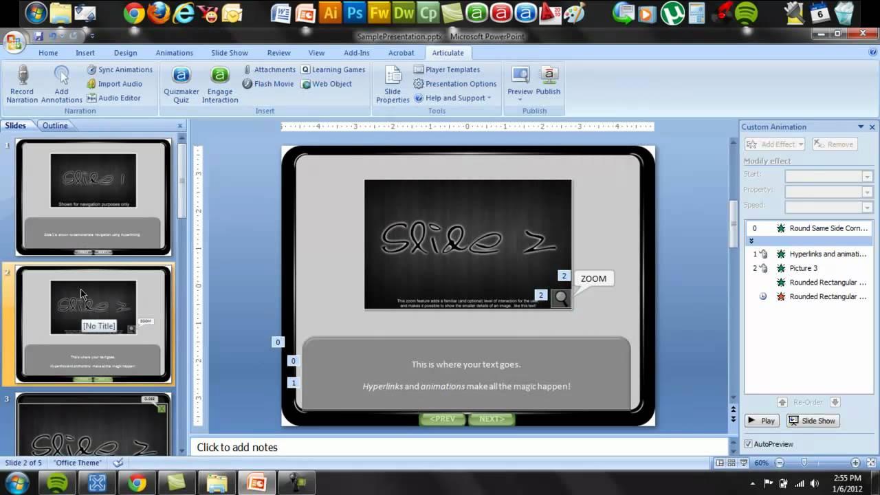 Creating a web uiux lightbox effect in ipad themed powerpoint creating a web uiux lightbox effect in ipad themed powerpoint presentation youtube toneelgroepblik Image collections