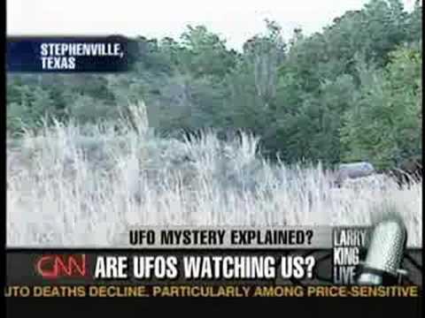 Larry King Live:Stephenville UFO Case Revisited (Part 1/3)