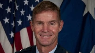 Court-martial Air Force general who spoke of God