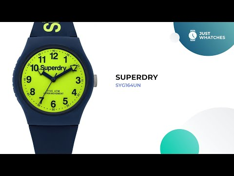 Superdry SYG164UN Men Watches Prices, Features, Detailed In 360