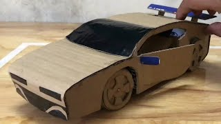 How to make a car from cardboard   how make a paper car