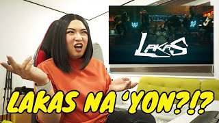 LAKAS NA 'YON?!? | Tita Krissy Reacts To COLN's Lakas Music Video