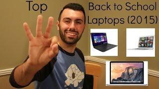 Best Back to School Laptops (2015)