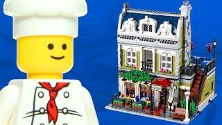 Lego Parisian Restaurant 10243 Expert Creator Modular Building Review