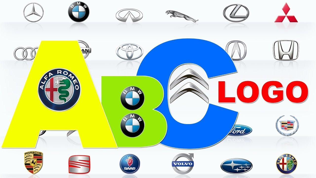 Learn Car Lgo Brands From A To Z Full Alphabet A Z Logo Cars