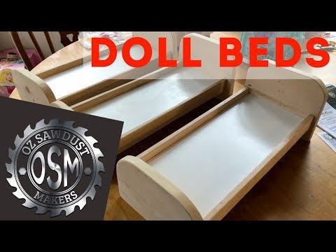 DIY Doll Beds - Easy Woodworking Project