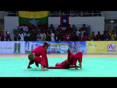 27th SEA GAMES MYANMAR 2013 - Pencak Silat 13/12/13 Travel Video