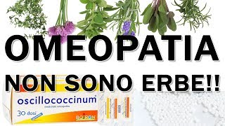 HOMEOPATHY DOESN'T MEAN HEALING USING HERBS - The biggest misconception about homeopathy