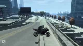 GTA IV Bike Tutorial: How to Grind, Spin etc..