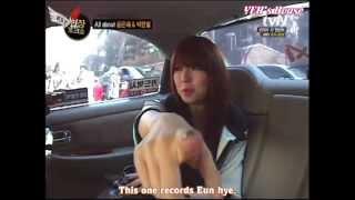 [Eng Sub] Yoon Eun Hye 윤은혜 & Park Han Byul on.tvN.Taxi 03.03.2011 - Part 1