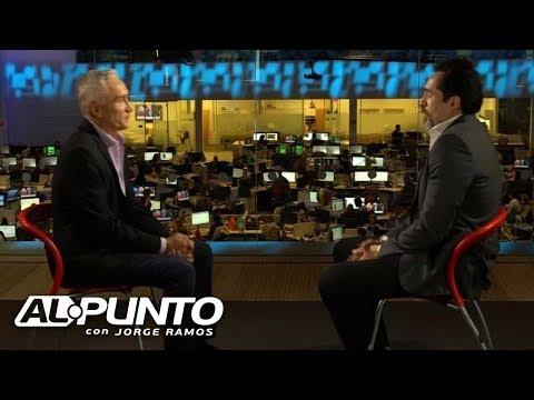 Demián Bichir dice que Peña Nieto falló como presidente y que Trump