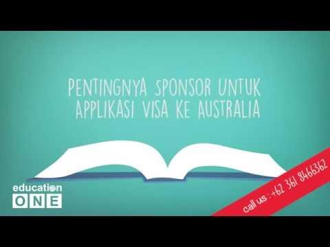 Pentingnya Sponsor Untuk Aplikasi Visa ke Australia