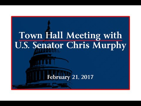 Town Hall Meeting with U.S. Senator Chris Murphy