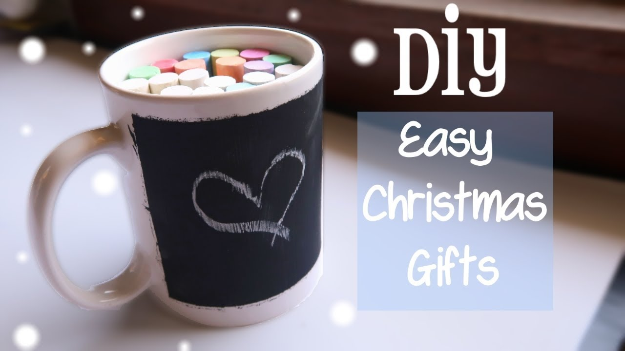5 Easy Diy Christmas Gifts For Friends Youtube