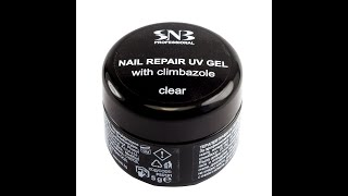 How To Work With Nail Repair UV Gel SNB Clear