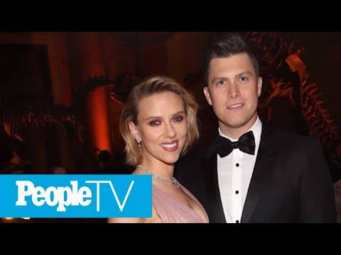 Scarlett Johansson And SNL&39;s Colin Jost Are Engaged After Two Years Of Dating  PeopleTV