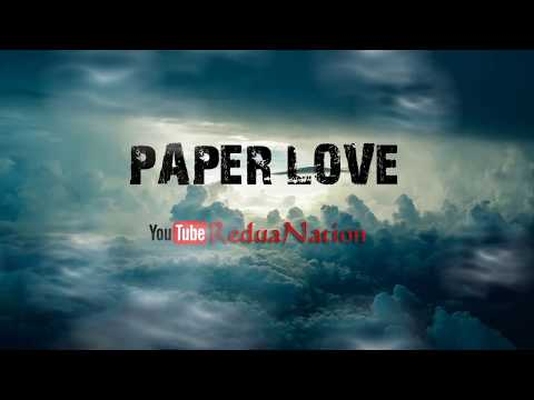 Allie X - Paper Love (Lyrics Video) -  Mrsuisidesheep