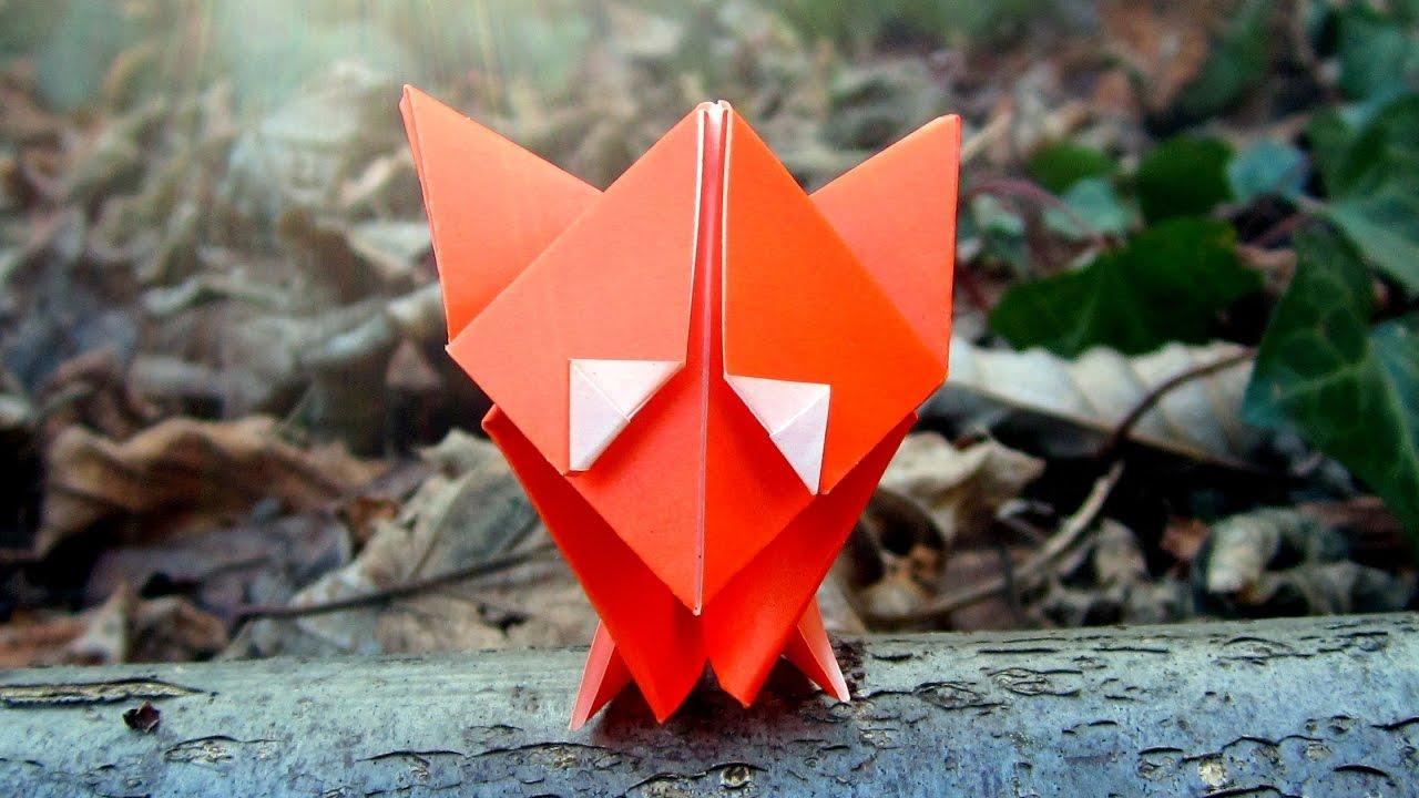How to fold a Fox – Wie man einen Fuchs faltet – Keep Folding On | 720x1280