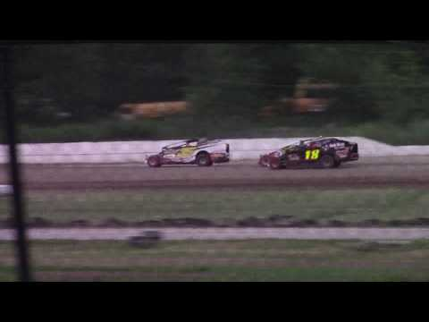 Ransomville Speedway Novice Sportsman Feature Highlights 7-7-17
