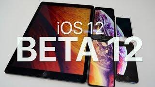 iOS 12 Beta 12 - Whats new?