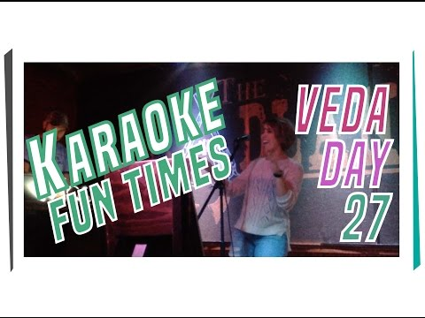 KARAOKE fun times & talks with baby pigeons - VEDA Day 27