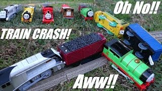Accidents Happen! Thomas & Friends Trackmaster - Spencer, Victor, James, Toby and Percy