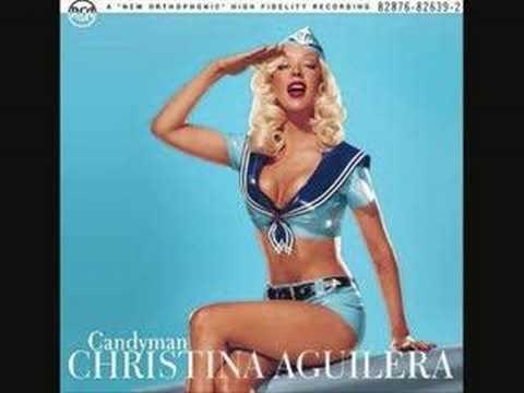 Christina Aguilera Candyman - WITH LYRICS!!..x