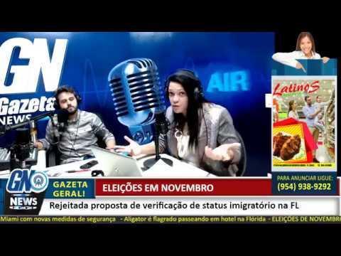 Rádio GN- Notícias destaques desta terça-feira 17