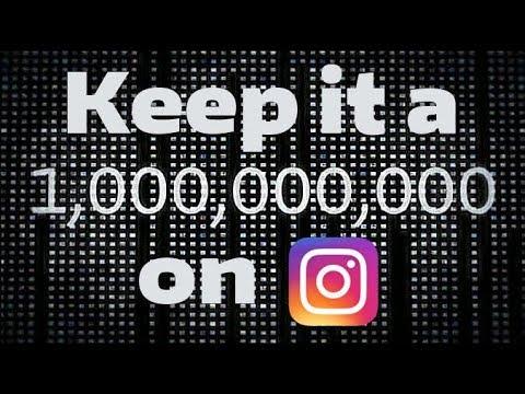 Keep It A Billion On Instagram (Episode 3.)