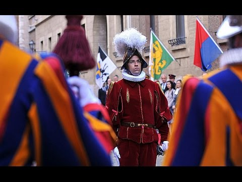 Pope fires commander of the Swiss Guards